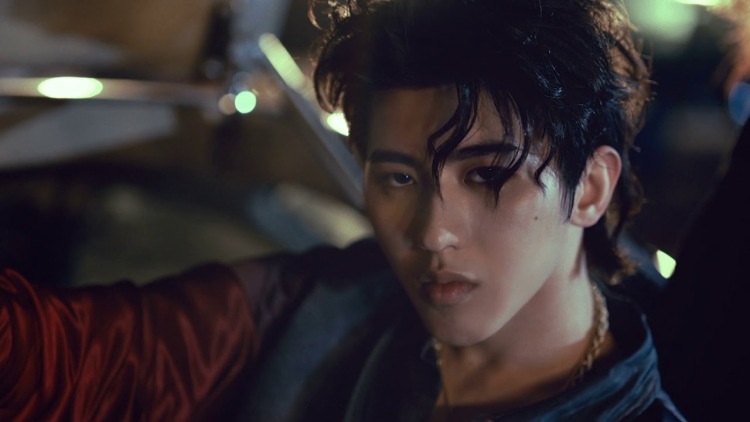 Cai Xukun, shown in one of his recent music videos Young.