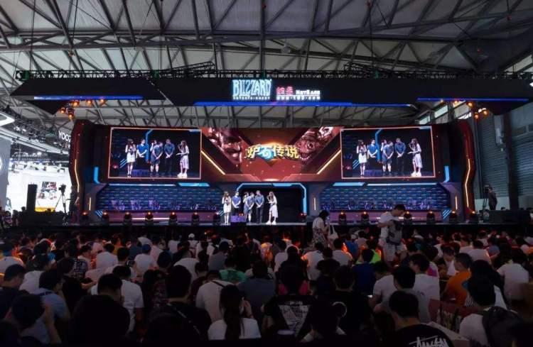 ChinaJoy 2019 held in Shanghai. Credit: NetEase Games