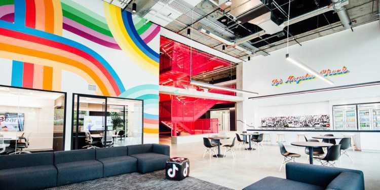 TikTok's Los Angeles office