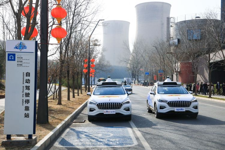 Baidu will launch driverless robotaxi service in Beijing's Shougang Park on May 2. Credit: Baidu
