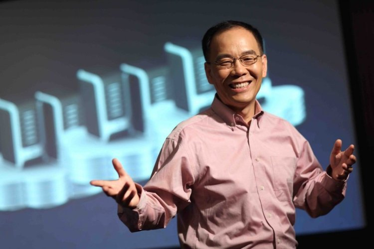 Zhang Hongjiang back when he served as Kingsoft's CEO. Image credit: SCMP Picture